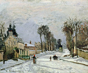 Camille Pissarro - The Versailles Road at Louveciennes