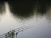 Fishing Rods Metal Prints - The waiting game Metal Print by David Pyatt