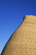 Ark Photo Prints - The walls of the Ark in Bukara Uzbekistan Print by Robert Preston
