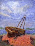 Free Shipping Art - The Wreck by Arlene Babad