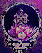 The Lotus Flower Prints - Theres Nothing You Can Hold For Very Long TWO Print by Kevin J Cooper Artwork