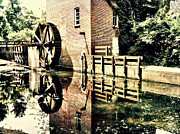 Deep River County Park Posters - This Old Mill Poster by Lynne Dohner