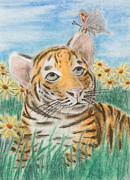 Jeanette Kabat - Tiger and Butterfly