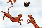 Christy Beckwith - Tigers on a Trampoline