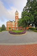 Harper Hall Framed Prints - Tillman Hall   Clemson University Framed Print by Willie Harper