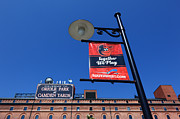 Camden Yards Framed Prints - Together We Play Framed Print by James Brunker
