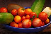 Tomatoes Prints - Tomatoes Print by Lutz Baar
