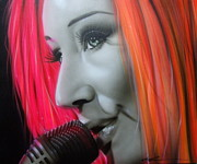 Soul Music Paintings - Tori Amos by Christian Chapman Art