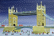 Judy Joel - Tower Bridge Skating on Thin Ice