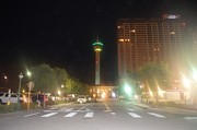 Tower Of The Americas Photos - Tower Of The Americas 1 by Lne Kirkes