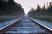 Patrick Shupert Metal Prints - Train Tracks to Nowhere Metal Print by Patrick Shupert