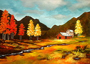 Serenity Scenes Landscapes Paintings - Transitions by Shasta Eone