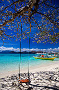 El-nido Prints - Tree swing and shadow  Print by Fototrav Print