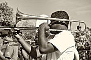 Steve Harrington - Trombone Man sepia