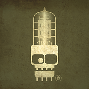 Alternative Music Prints - Tubeskull Print by Milton Thompson