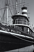 South Street Seaport Posters - Tugboat Helen McAllister II Poster by Clarence Holmes