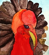 Swift Painting Originals - Turkey in Waiting by Rand Swift