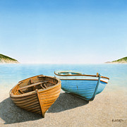 Horacio Cardozo - Two Boats on the Beach