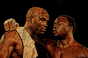 Boxer Digital Art Prints - Two Boxers Print by Lynda Payton