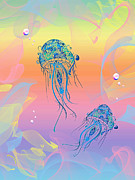 Cheryl Young - Under The Sea Jelly Fish