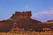 Weathered Prints - Valley of the Gods Print by Christine Till