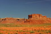 Dust Prints - Valley of the Gods - See what the Gods see Print by Christine Till