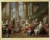Royal Family Arts Framed Prints - Van Loo, Louis Michel 1707-1771. Philip Framed Print by Everett