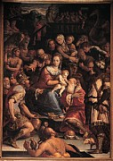 Adoration Photo Prints - Vasari Giorgio, Adoration Of The Magi Print by Everett