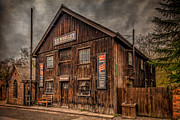Wooden Building Digital Art Posters - Victorian Sawmill Poster by Adrian Evans