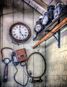 Keys Digital Art - Victorian Train Memorabilia by Adrian Evans