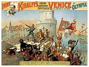 Revolution Painting Prints - Victory at Chioggia Print by Terry Reynoldson