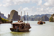 Fototrav Print - Vietnamese Junk On Halong Bay