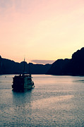Fototrav Print - Vietnamese Junks on Halong Bay Hanoi...