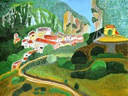 Magdalena Frohnsdorff - Village in the Mountains