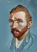 Van Gogh Tapestries Textiles - Vincent Revisited by Arie Van der Wijst