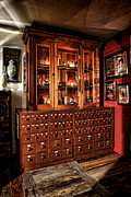 Scientific Photos - Vintage Apothecary Case by Olivier Le Queinec