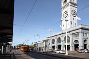 Wingsdomain Art and Photography - Vintage San Francisco Street Car at The...