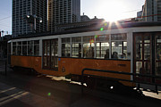Wingsdomain Art and Photography - Vintage San Francisco Street Car on The...