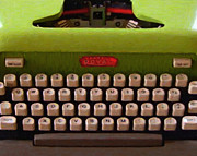 Wingsdomain Art and Photography - Vintage Typewriter - Painterly