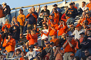 Applaud Prints - Virginia Cavaliers Football Fans Scott Stadium Print by Jason O Watson