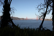 Wingsdomain Art and Photography - Vista to The San Francisco Golden Gate...
