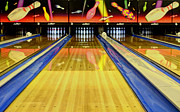 Bowling Alley Framed Prints - Waiting For You In The Alley Framed Print by Bob Christopher
