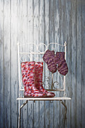 Sock Prints - Warm Your Body And Soul Print by Joana Kruse