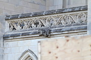 Churches Prints - Washington National Cathedral - Washington DC - 01134 Print by DC Photographer