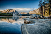 Lake Framed Prints - Water and Stone Framed Print by Cat Connor