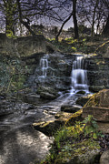 Cheltenham Framed Prints - Waterfall in Pittville Park Framed Print by Roger Nichol