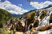 Fototrav Print - Waterfall landscape at Jiuzhaigou China