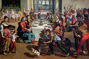 Feast Paintings - Wedding at Cana by Andrea Boscoli