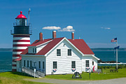 Clarence Holmes - West Quoddy Head Light