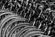 Abstract Sights Metal Prints - Wheels Keep on Turning Metal Print by Mountain Dreams